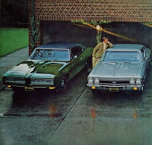 1968 Pontiac GTO and Chevrolet Chevelle SS 396