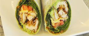 Easy Chicken Wrap!
