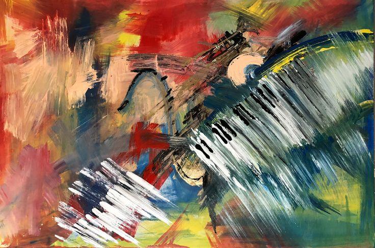 Just Jazz.  Acrylic 90x60