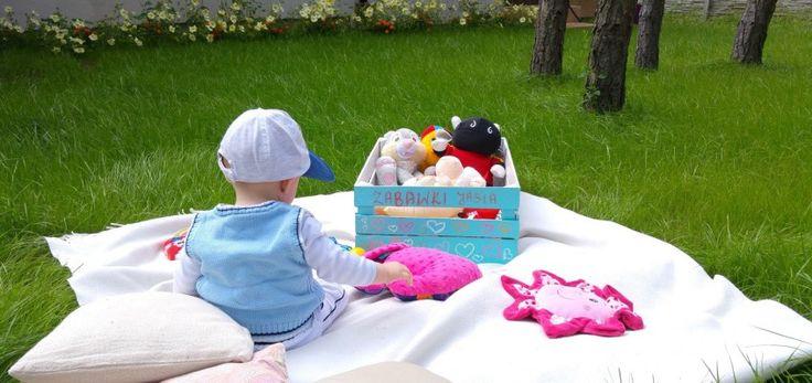 Skrzynka na zabawki DIY