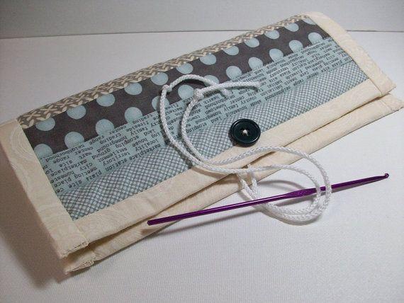 Quilted Knitting Needle Case Pattern : Best crochet hook cozy images on pinterest chrochet