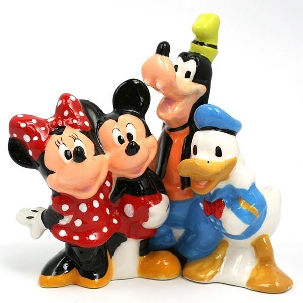 Mickey and Friends - Salt & Pepper Shakers