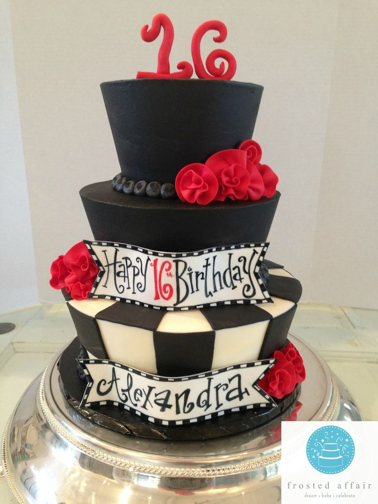 71 Best Sweet 16 Cakes Images On Pinterest 16th