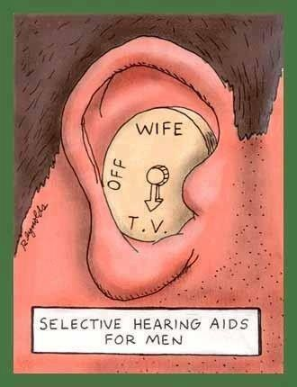 "Now that's a technical innovation that would be guaranteed to see by the millions ( as essential as a mobile phone ) essential for happiness, that's for sure !!! Once used, you could never endure married life without it !! ) ps I can hear all the other married men saying :-  "" Ear, ear, mate !!! """