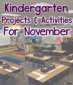 So many fun and exciting lessons, projects, and activities happen in the month of November in kindergarten, preschool, and first grades. And the Simply Kinder Teacher Facebook Group has over 7000 dedi