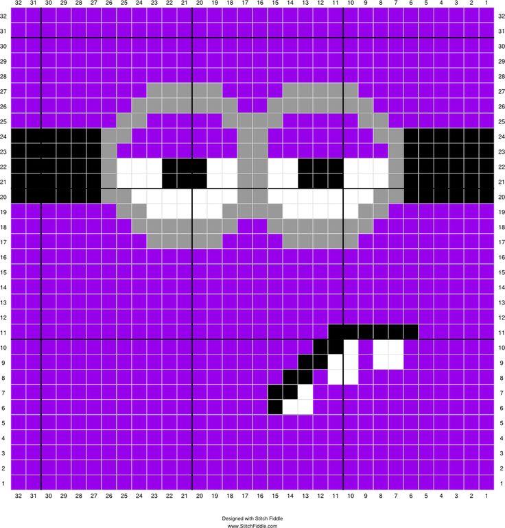 Purple minion face 3
