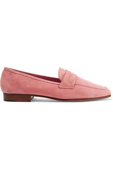 Mansur Gavriel - Classic Suede Loafers - Pink
