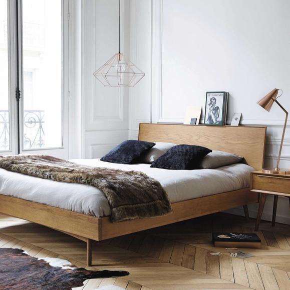 die besten 25 bett holz ideen auf pinterest gem tliches zimmer diy kopfteil holz und. Black Bedroom Furniture Sets. Home Design Ideas