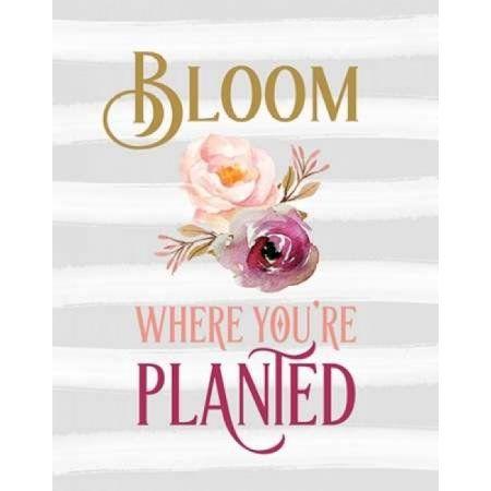 Bloom Watercolor Flowers Canvas Art - Tara Moss (22 x 28)