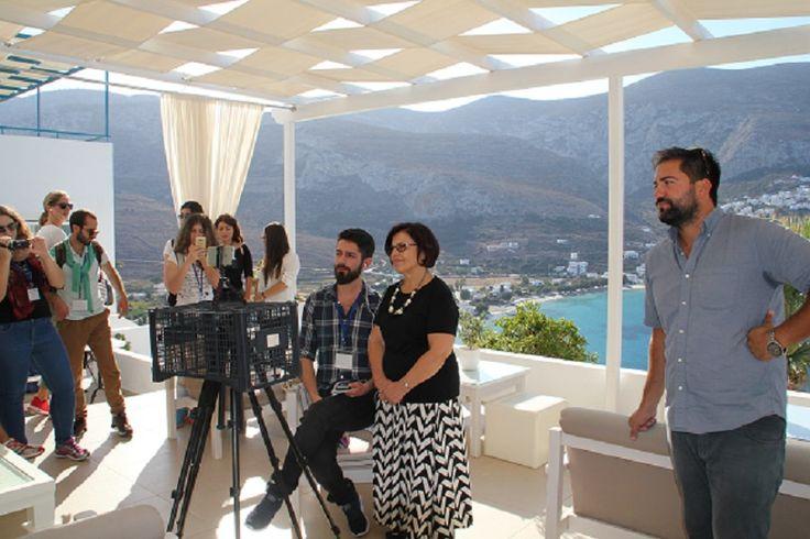 Catisart - ΥΠΕΡΙΑ 2016: Συνάντηση των πέντε αισθήσεων στην Αιγιάλη, στην Αμοργό και στο Aigialis Hotel & Spa