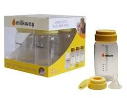 Milkway Anne Sütü Saklama Kabı 4'lü , | mlk022 | Bebekchik Bebek Ürünleri hesaplı alışverişin adresi, chicco, tiny love, mama sandalyesi, nuk, avent | Milkway