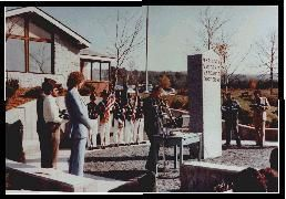 Dedicated in 1983 in Sharon Vermont, this is widely known as the first state sanctioned Vietnam Veterans memorial.