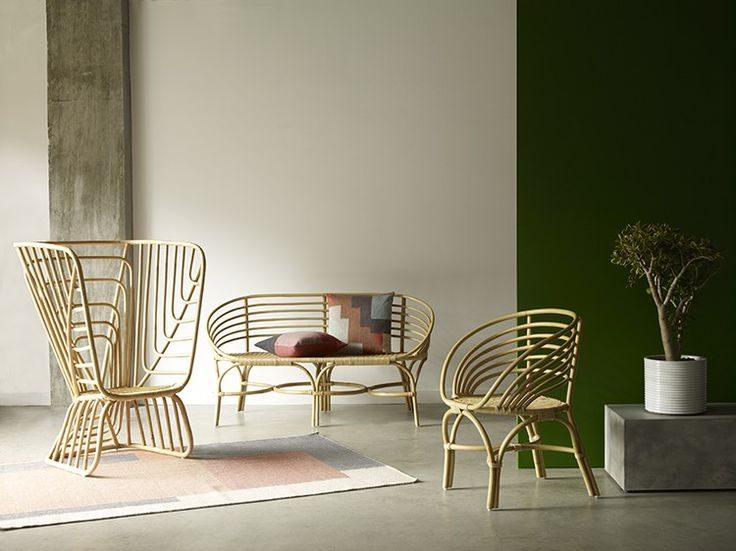 Always a sensible choice for the home, Rattan and Wicker furniture has been given a modern makeover characterised by clean lines and quirky applications