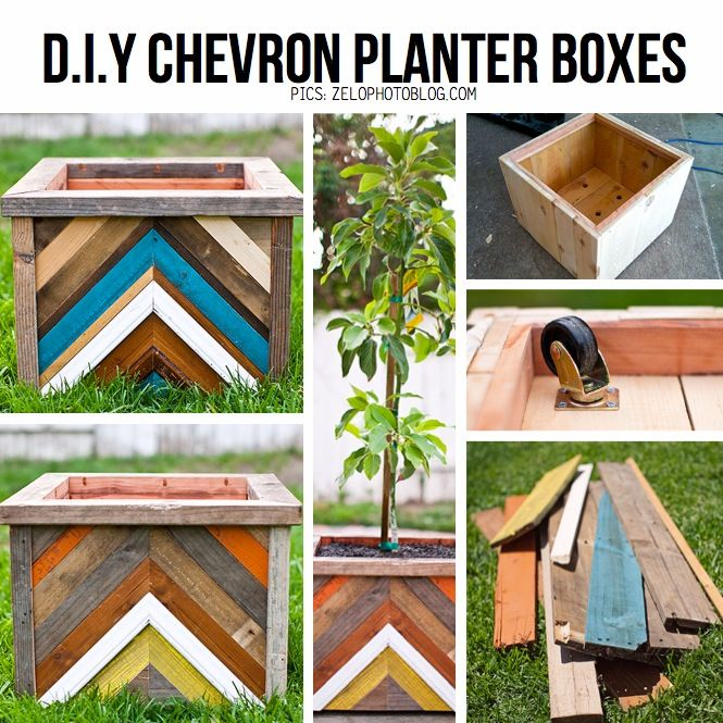 Wooden Garden Planters Ideas 25 adorable diy wooden planter ideas Find This Pin And More On Garden And Yard Reclaimed Wood Planter