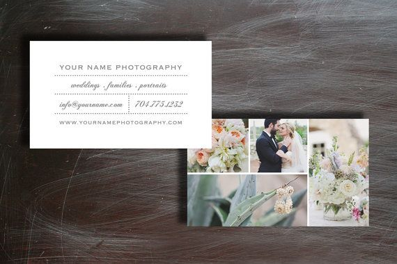photography business card | bittersweet design boutique