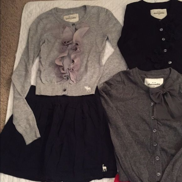 Selling this Abercrombie Kids Girls sweaters, skirts, tops s in my Poshmark closet! My username is: jules669. #shopmycloset #poshmark #fashion #shopping #style #forsale #Abercrombie