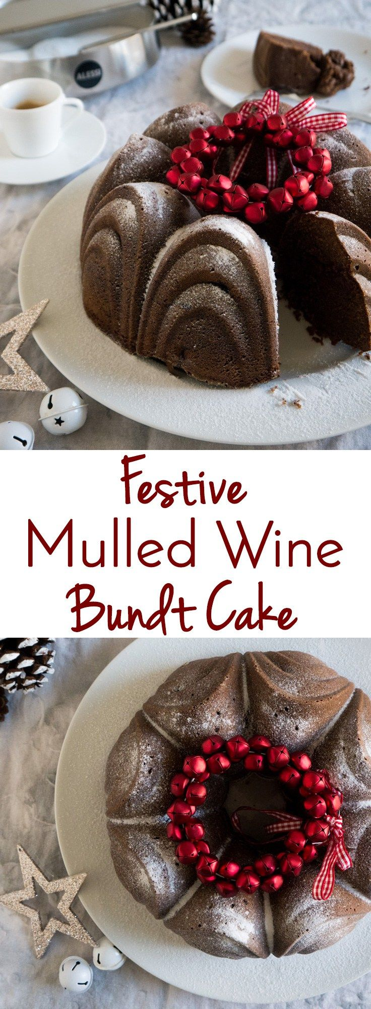 Have you tried German Mulled Wine? Today's recipe is a German Mulled Wine Cake which is perfect for Christmas.