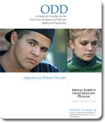 Oppositional Defiant Disorder | American Academy of Child & Adolescent Psychiatry