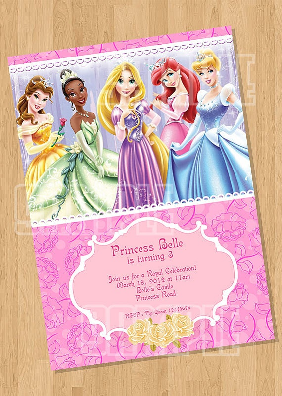 103 best disney princess party images on pinterest birthdays disney princess birthday party invitation by cutiesparties 500 filmwisefo Images