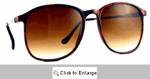 SWANK Vintage 70's Shades Sunglasses - 582 Red