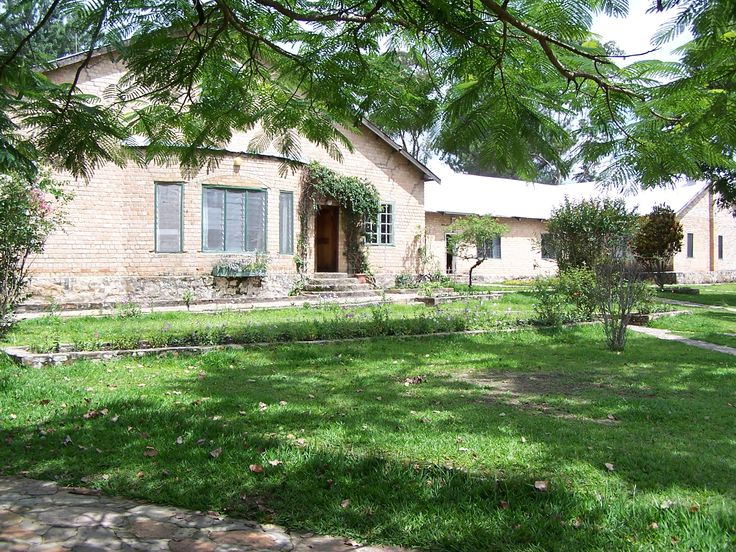 Sakeji, Zambia: Dormitory of the school