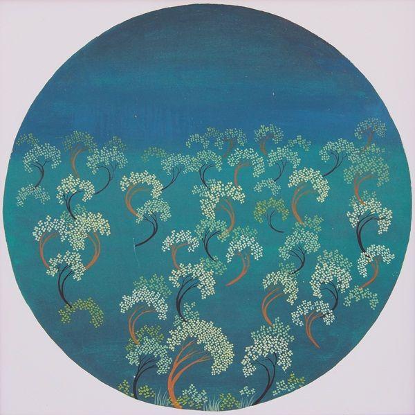 Hutanku, oil on canvas, 60  x 60 cm, 2005, By M. Zein (alm.)