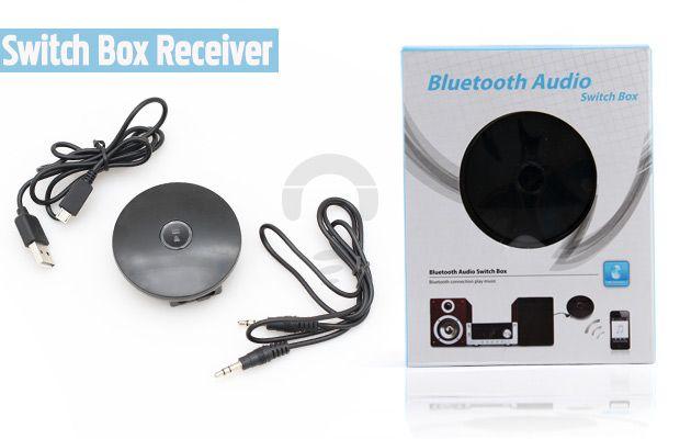 Mendengarkan music di handphone dan mengeluarkan suaranya melalui speaker lain hanya dengan Audio Bluetooth adaptor hanya dengan Rp176.000