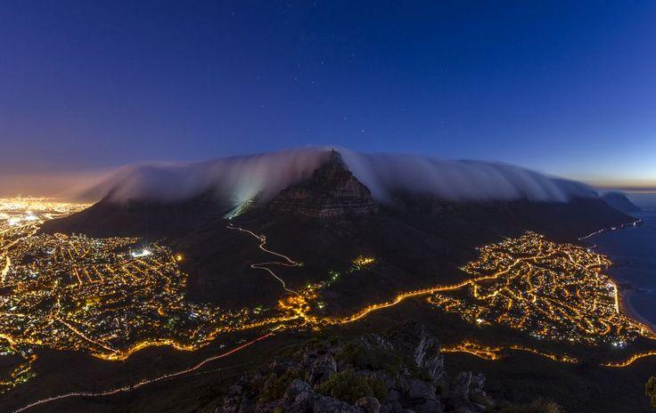 Ночной Кейптаун