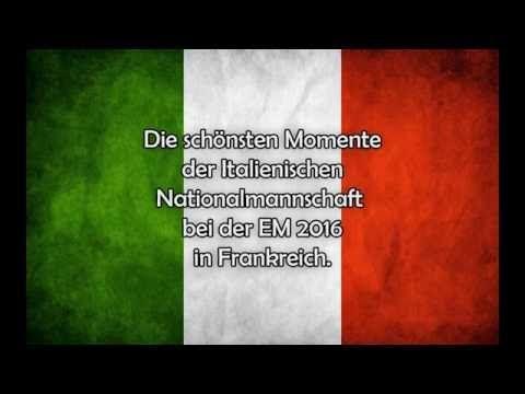 Schönsten Momente Italienische Nationalmannschaft EM 2016   YouTube