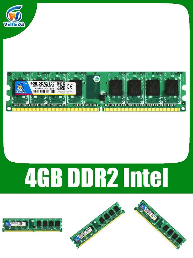[Visit to Buy] ddr2 8gb 2x4gb ddr2-800 for intel and amd mobo support memoria 8gb ram ddr2 6400 Lifetime Warranty! #Advertisement