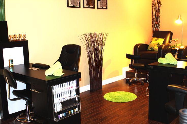 Pedicure & manicure room | nail room ideas | Pinterest