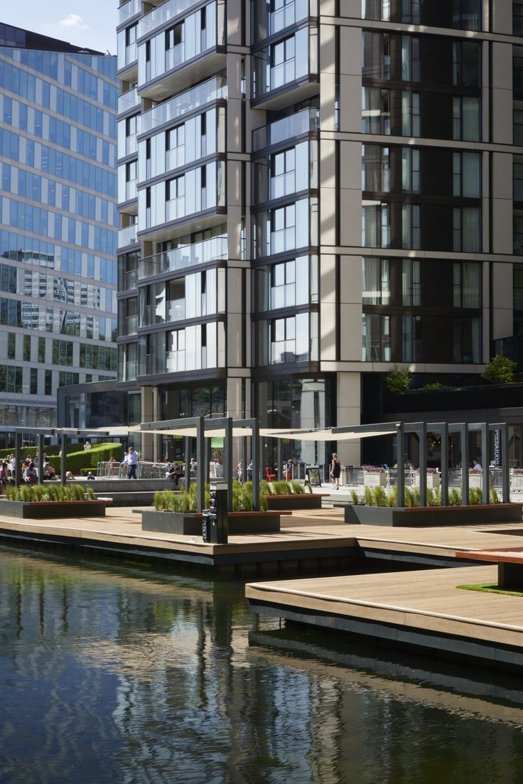 Over in Paddington Basin, London now has its first floating park – and it's officially open to the public for all relaxation and lunch-eating purposes.
