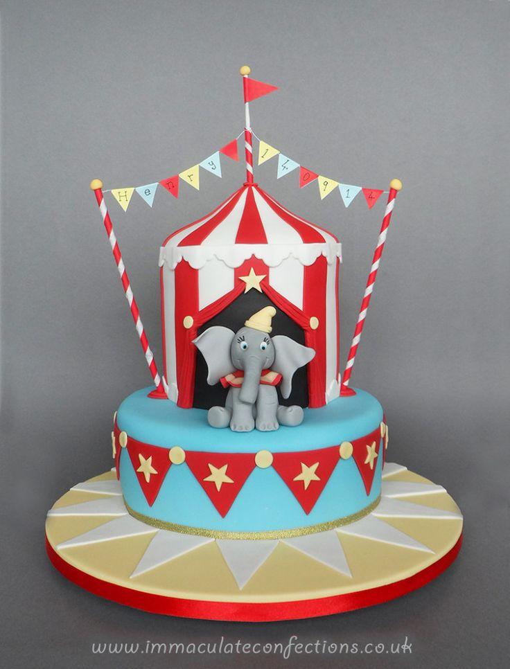 Dumbo Baby Shower Cake Topper