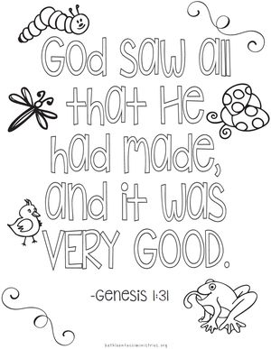Free Bible Verse Coloring Pages