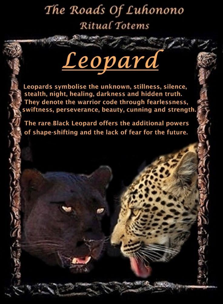 Luhonono Leopard Totem...