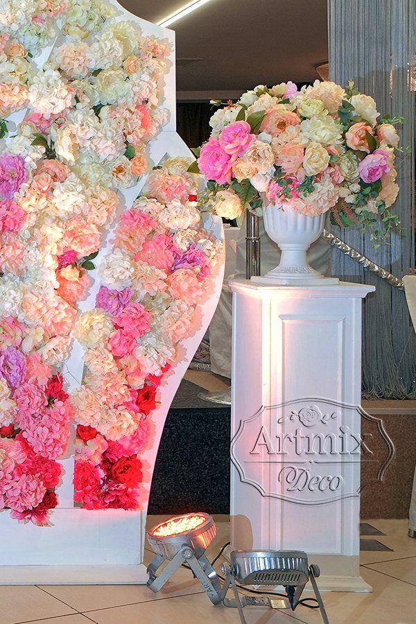 Тумба с цветами
