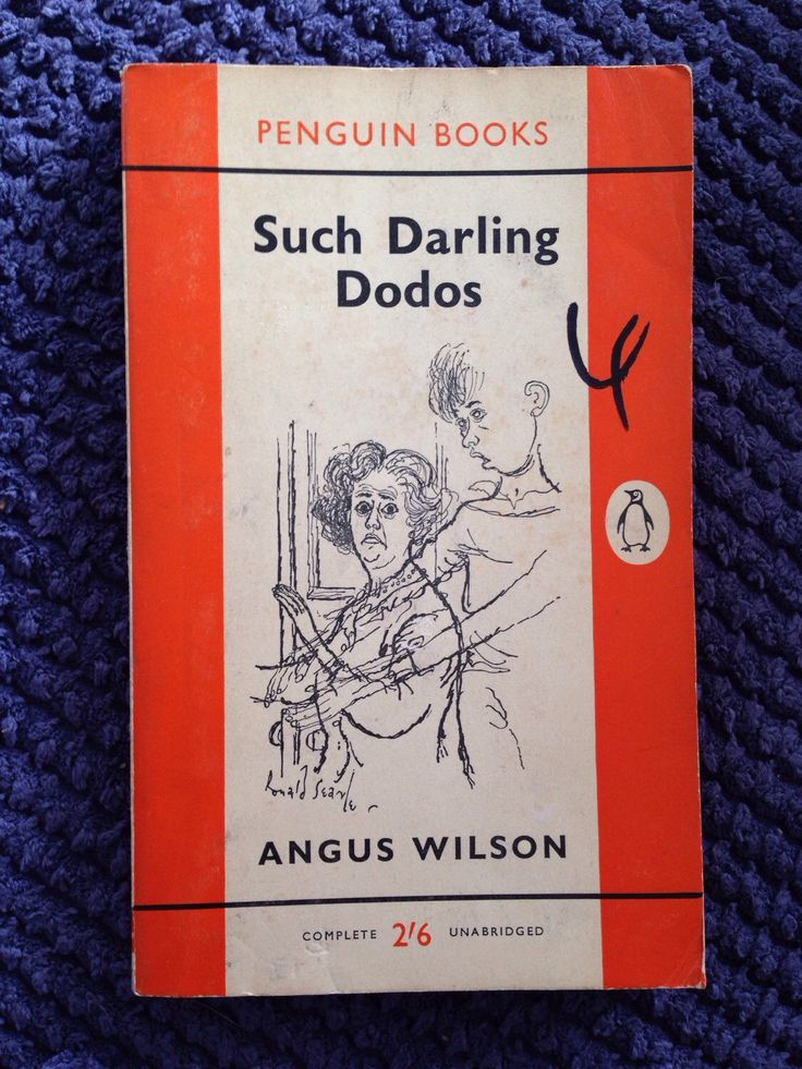 1960 Vintage Penguin Book, Such Darling Dodos by Angus Wilson, fiction, literature, novel by NinskaPrints on Etsy https://www.etsy.com/uk/listing/276623730/1960-vintage-penguin-book-such-darling