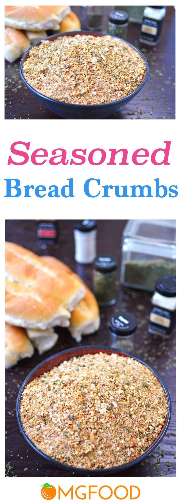 This all-purpose bread crumb mix is way better for you than the packaged stuff! | omgfood.com