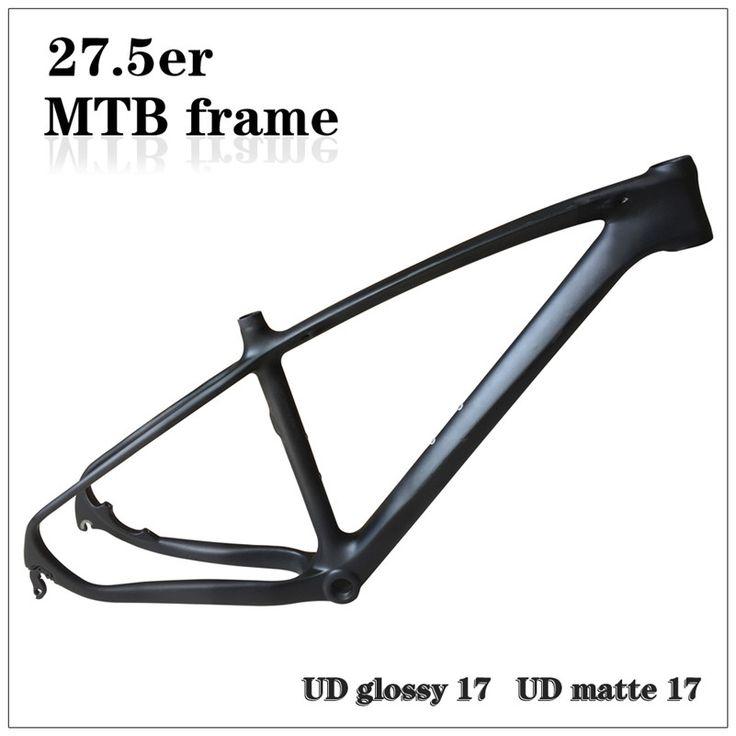 "266.00$  Buy here - http://alisoz.worldwells.pw/go.php?t=32717172072 - ""Storage Clearace Sale ! 27.5er Cheap bike MTB Disc Full Carbon Frame UD Glossy/Matte 17""""  MTB Frame ,650B Carbon Bike Frame"" 266.00$"