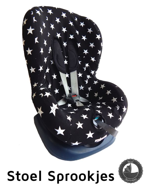 Nieuwe autostoel hoes groep 1 (+) voor onder andere Maxi Cosi Priori, Römer King, Chicco, Cabino, Safety1st, Fisher Price. Misschien ook Maxi Cosi Tobi, Pearl, Axiss en Rubi. Car seat cover toddler bezug