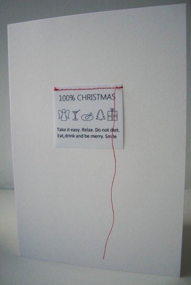 December is de maand om een kaartje te sturen. Met de beste wensen natuurlijk maar soms is het ook een leuke manier om even bij te 'praten'...