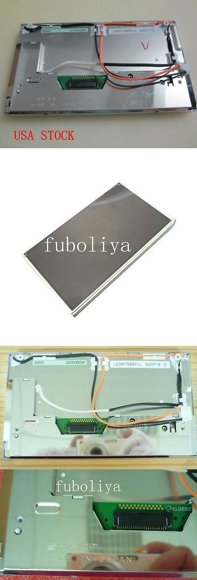 Other GPS Accs and Tracking: Usa Ship -Lcd Screen Display Replacement For Bmw E53 X5 (Sharp Lq065t9br51u) Fu8 BUY IT NOW ONLY: $130.0