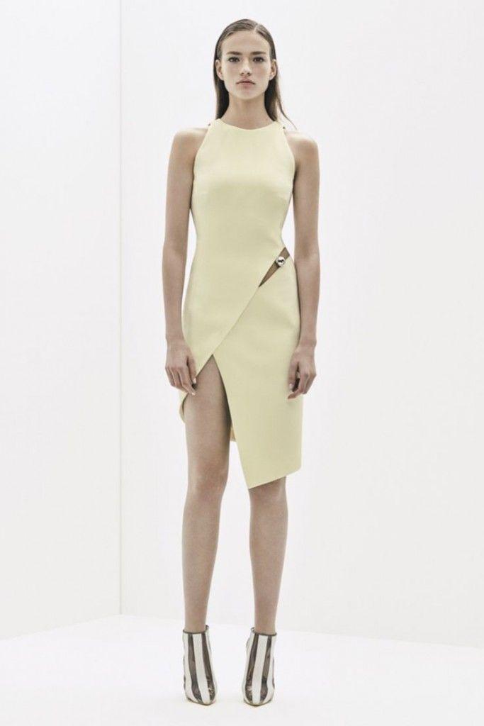 модные платья весна-лето 2016 Mugler