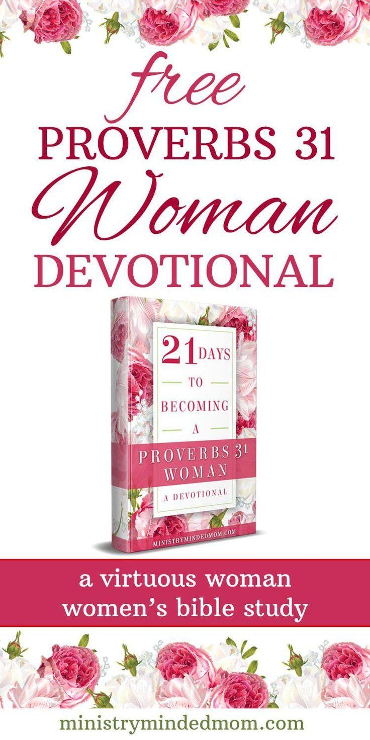 Proverbs 31 Woman Bible Study Printable Bundle Bible