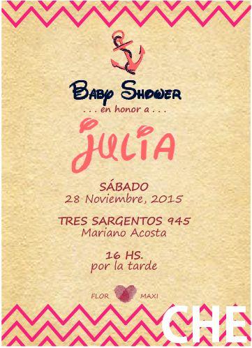 INVITACION BABY SHOWER FACEBOOK CHE Deco che.deco@hotmail.com Belén