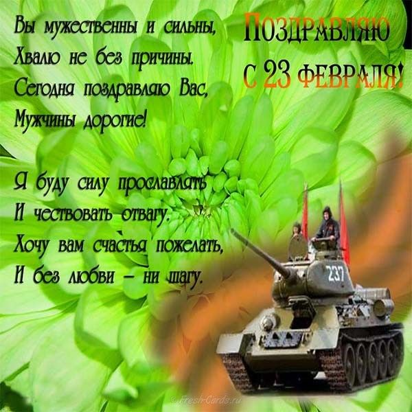 что стихи на 23 февраля танкисту каталоге