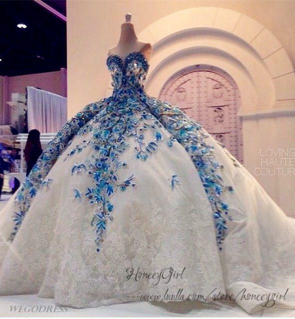 Giant Ball Gown Wedding Dress: Wedding Dress,Big Ball Gown Wedding Dress,Luxurious