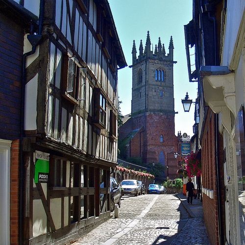 St. Julian's Church = Fish Street, Shrewsbury, Shropshire, England