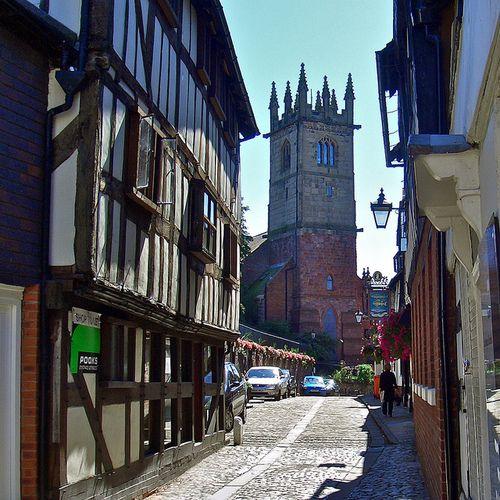 St. Julian's Church = Fish Street, Shrewsbury, Shropshire, England