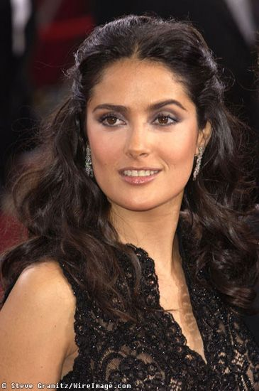 Selma Hayek-I absolutely love this look